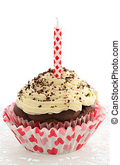 Low fat chocolate cupcake - Fresh baked low fat chocolate...