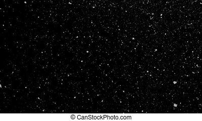 stjärnfall, Snö, Slinga