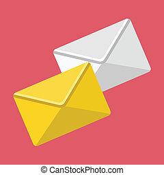 Vector Envelopes Icon