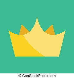 Vector Gold Crown