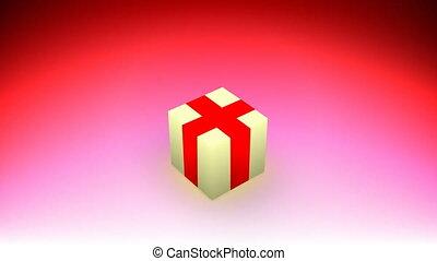 Congratulations cube