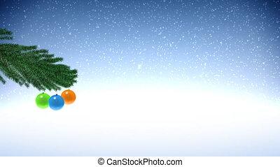 New Year Pine