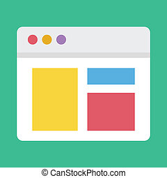 Vector Responsive Web Design Icon