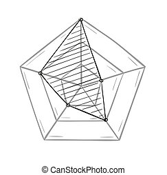 sketch of the radar chart