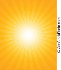 Sun-rays - Abstract background of the shining sun-rays Sun...
