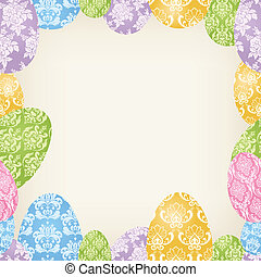 Easter Eggs frame