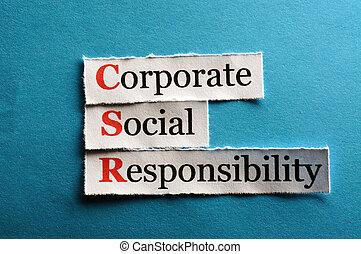 csr abbreviation - Corporate social responsibility (CSR)...
