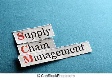 scm abbreviation - SCM Supply Chain Management acronym on...