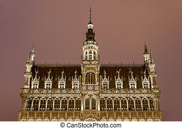 The Maison du Roi in Brussels, Belgium - The Maison du Roi...