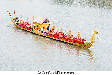 Royal Barge Procession : Suphannahong