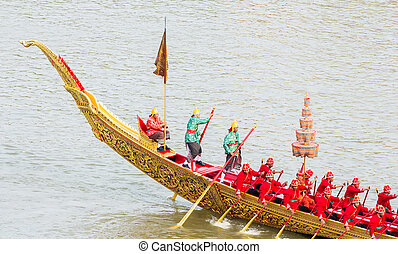 Steersman of Royal Barge Procession : Suphannahong