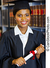 gorgeous african american law school graduate - gorgeous...