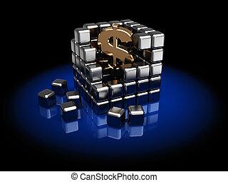 kub,  dollar
