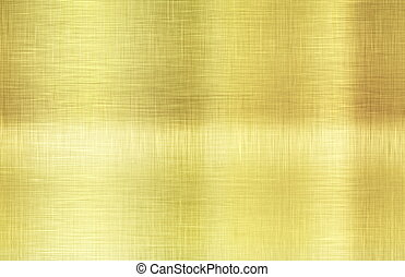 Gold Plating Smoothened as a Background Texture
