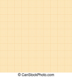 Old sepia graph paper square grid background