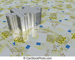 Euro and binary puzzle piece