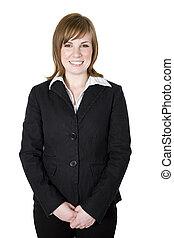 business woman portrait - Portrait of a professional...