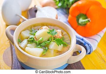 fresco, sopa