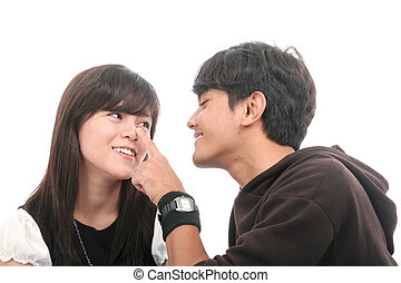 asian couple - asian happy couple