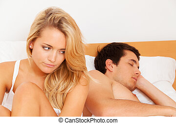 couple has problems and crisis divorce and separations - a...