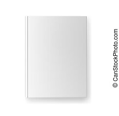 blank book cover template