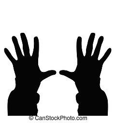people hand vector