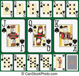 Spade suit large index - Playing cards, spade suit, joker...