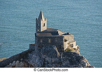 Church of San Pietro in Portovenere - The historical church...