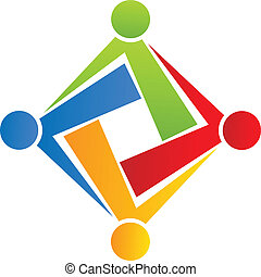 Team connection people logo company - Team connection people...