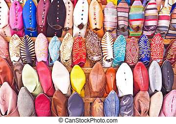 Oriental shoes from Morocco