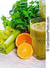 smoothie, Légumes