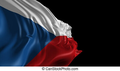 Flag of Czech Republic - Beautiful 3d animation of Czech...