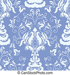 Damask seamless pattern element