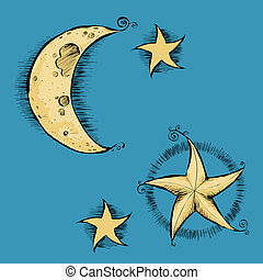 Celestial Objects - A group of celestial objects.