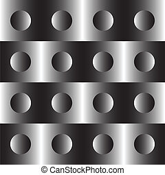 Seamless Tech Background - Vector Abstract Seamless Tech...