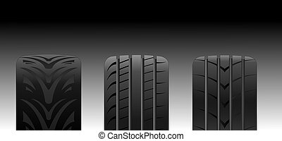 Tyres - Different tyre