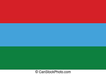 Karelia flag