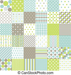Seamless Patterns,Digital Scrapbook - Seamless Patterns -...