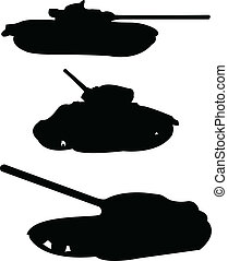 tanks collection - vector