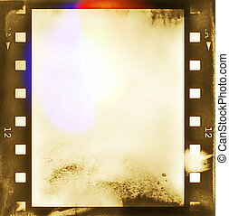 film roll background and texture