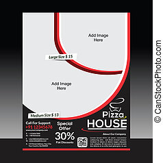 Pizza House Flyer Template