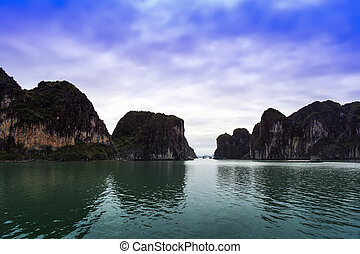 Ha Long Landscape. North province of Vietnam.