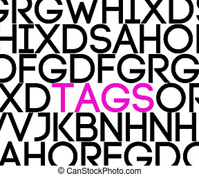 Tags in Text