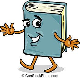 book character cartoon illustration - Cartoon Illustration...
