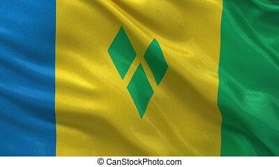 Flag of Saint Vincent - Grenadines