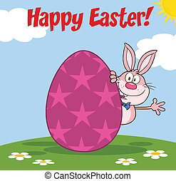 Happy Easter From Pink Rabbit