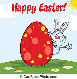 Happy Easter From Blue Rabbit