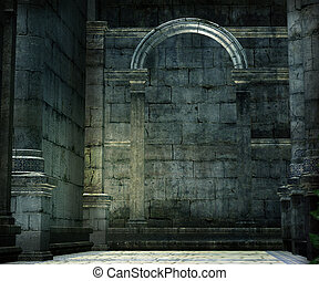 Medieval Chamber Background
