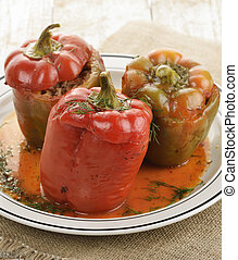 Stuffed Sweet Peppers
