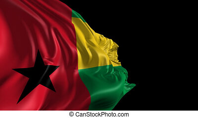 Flag of Guinea Bissau - Beautiful 3d animation of Guinea...